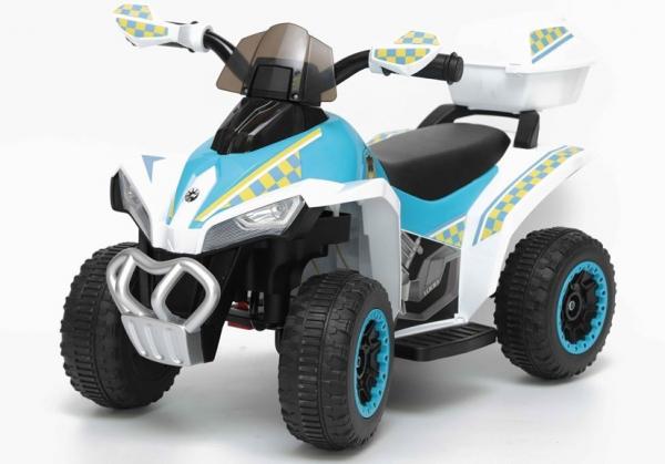 Mini ATV electric Police Quad YSA021A STANDARD #Alb 0