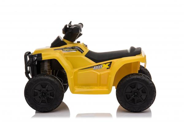 Mini ATV electric pentru copii BJ116 35W STANDARD #Galben 1