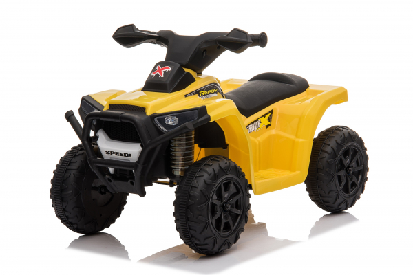 Mini ATV electric pentru copii BJ116 35W STANDARD #Galben 0