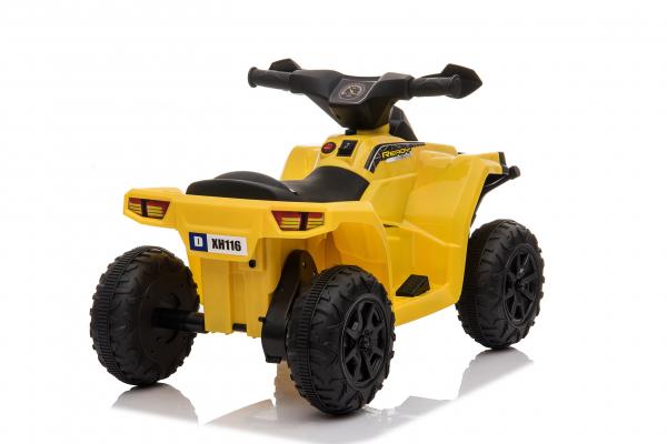 Mini ATV electric pentru copii BJ116 35W STANDARD #Galben 2