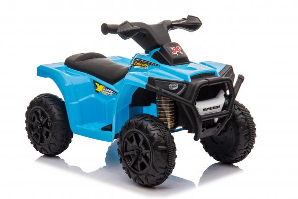 Mini ATV electric pentru copii BJ116 35W STANDARD #Albastru 0