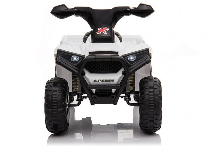 Mini ATV electric pentru copii BJ116 35W STANDARD #Alb [2]