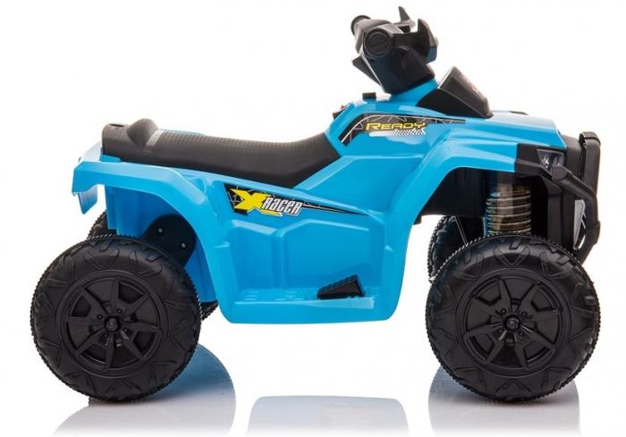 Mini ATV electric pentru copii BJ116 35W STANDARD #Albastru [6]