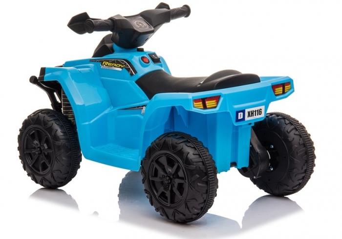 Mini ATV electric pentru copii BJ116 35W STANDARD #Albastru [4]