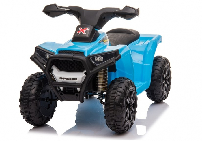 Mini ATV electric pentru copii BJ116 35W STANDARD #Albastru [3]