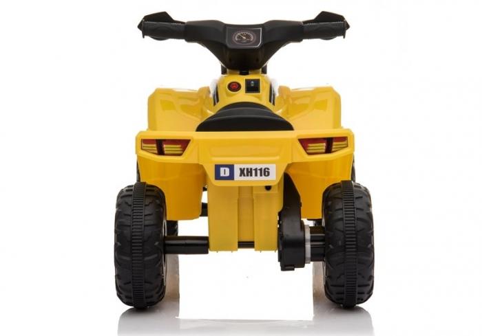 Mini ATV electric pentru copii BJ116 35W STANDARD #Galben [5]
