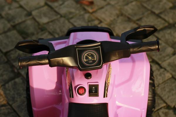 Mini ATV electric pentru copii BJ116 35W STANDARD #Roz 8