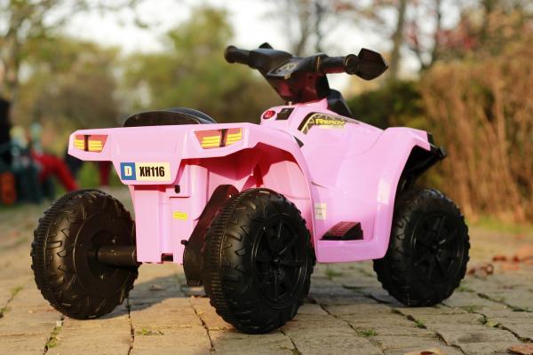 Mini ATV electric pentru copii BJ116 35W STANDARD #Roz 4