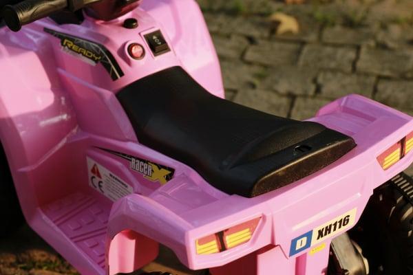 Mini ATV electric pentru copii BJ116 35W STANDARD #Roz 7