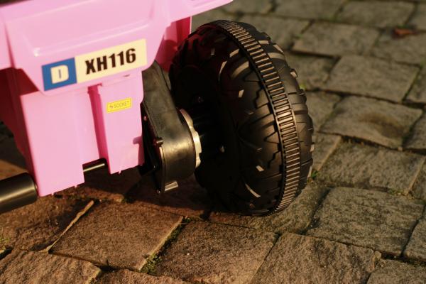 Mini ATV electric pentru copii BJ116 35W STANDARD #Roz 9