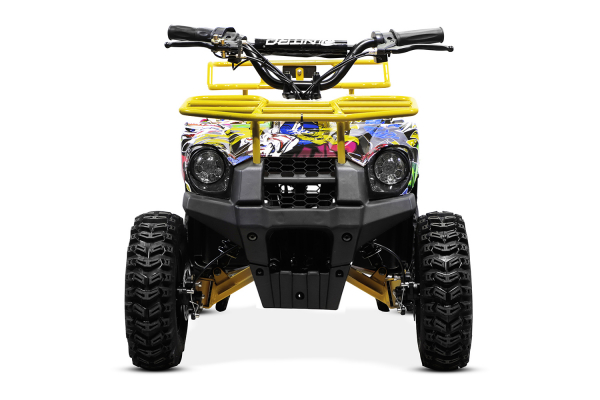 ATV electric NITRO ECO Torino Cross 800W 36V #Galben 3