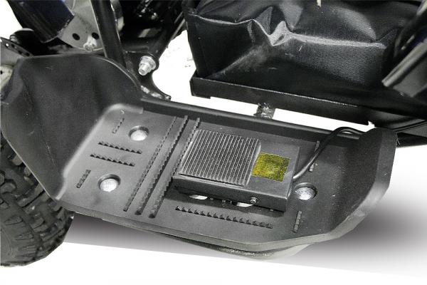 Mini ATV electric pentru copii NITRO Torino Quad 800W 36V #Rosu 2