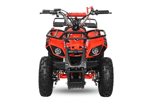 Mini ATV electric pentru copii NITRO Torino Quad 800W 36V #Rosu 1