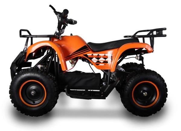 ATV electric pentru copii KXD Torino M5 800W 36V #Portocaliu 3