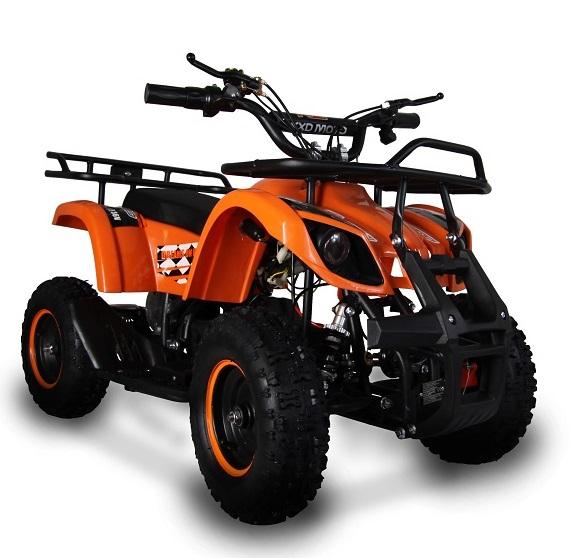 ATV electric pentru copii KXD Torino M5 800W 36V #Portocaliu 0