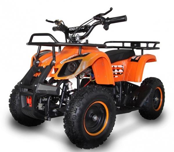 ATV electric pentru copii KXD Torino M5 800W 36V #Portocaliu 5