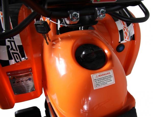 ATV electric pentru copii KXD Torino M5 800W 36V #Portocaliu 4