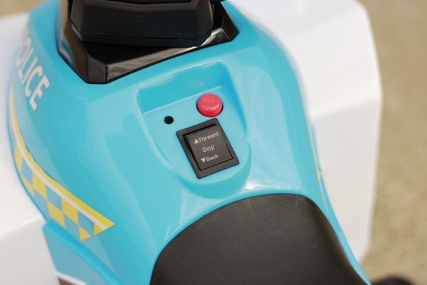 Mini ATV electric Police Quad YSA021A STANDARD #Alb 9