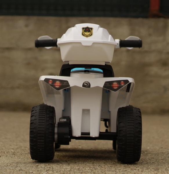 Mini ATV electric Police Quad YSA021A STANDARD #Alb 6