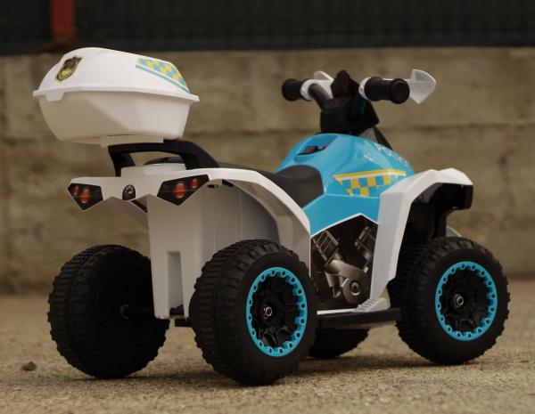 Mini ATV electric Police Quad YSA021A STANDARD #Alb 5