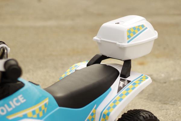 Mini ATV electric Police Quad YSA021A STANDARD #Alb 11