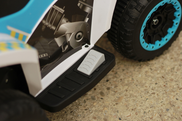 Mini ATV electric Police Quad YSA021A STANDARD #Alb 10