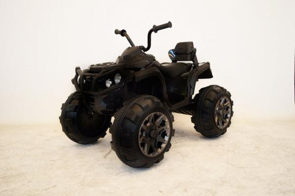 Mini ATV electric Quad Offroad cu Telecomanda STANDARD #Negru 1
