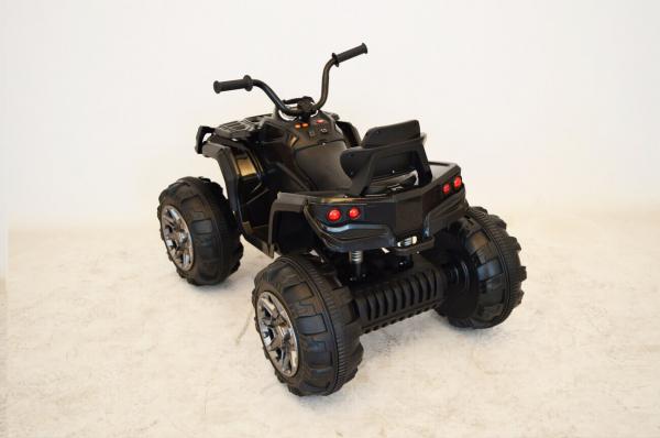 Atv electric pentru copii 2-6 ani, quad off road, negru 3