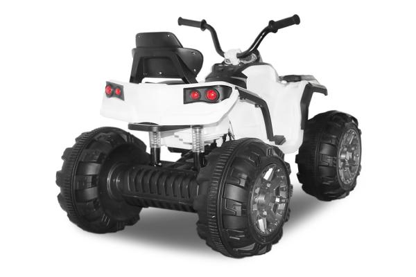 Mini ATV electric Quad Offroad cu Telecomanda STANDARD #Alb 2