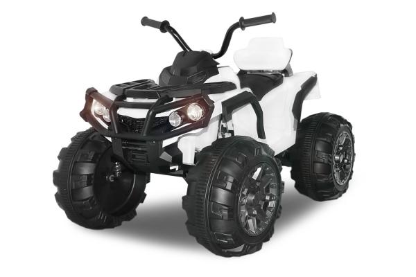 Mini ATV electric Quad Offroad cu Telecomanda STANDARD #Alb 0