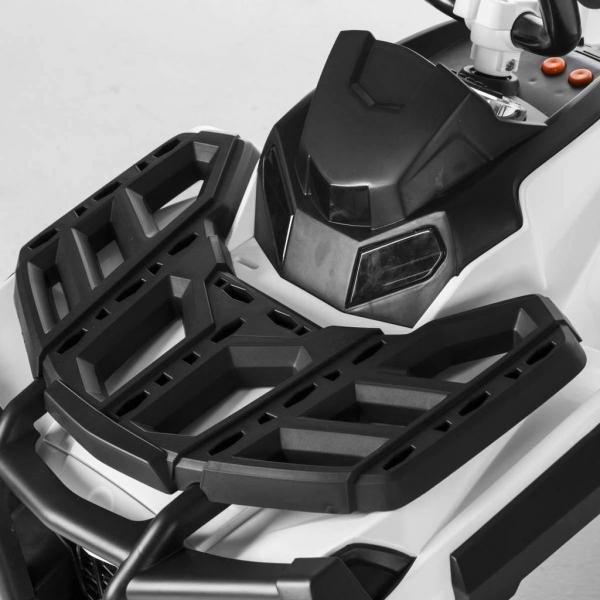 Mini ATV electric Quad Offroad cu Telecomanda STANDARD #Alb 4