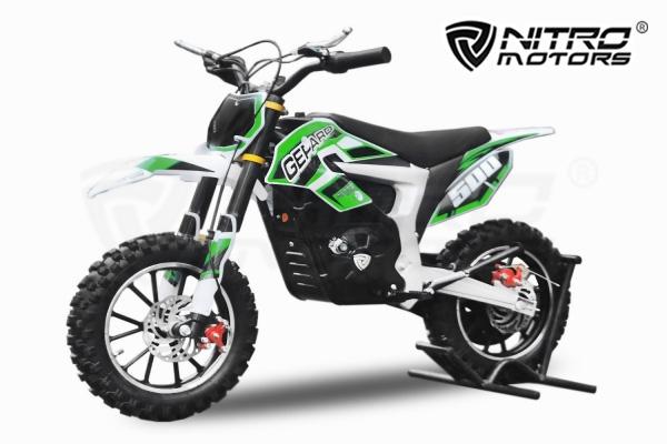 Mini Motocicleta electrica Eco Ghepard 500W 24V #Verde [0]