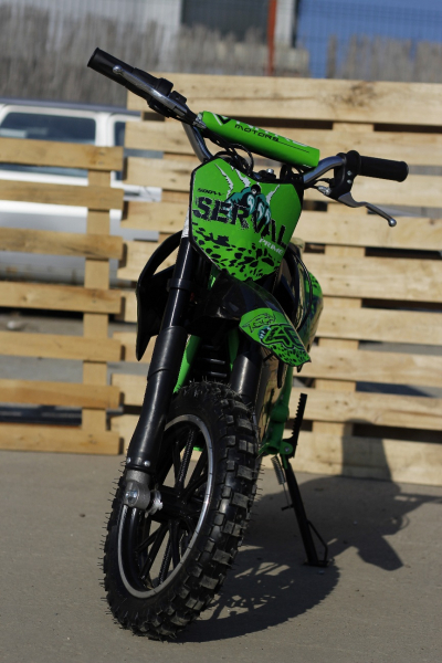 Mini motocicleta electrica NITRO Eco Serval 500W 10/10 #Verde 5