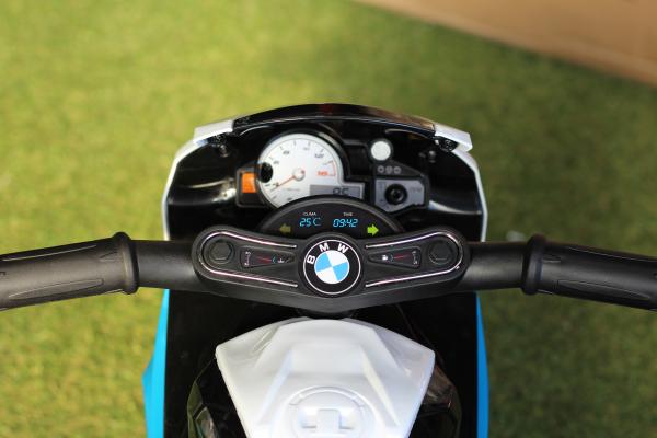 Mini Motocicleta electrica BMW S1000RR STANDARD #Albastru 5