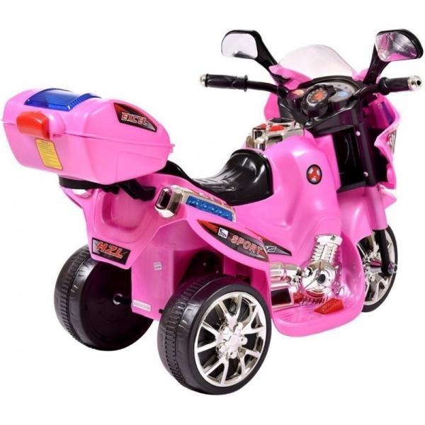 Mini Motocicleta electrica C051 35W cu 3 roti STANDARD #Roz 4