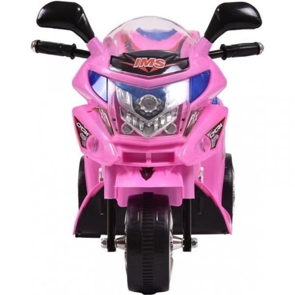 Mini Motocicleta electrica C051 35W cu 3 roti STANDARD #Roz 2