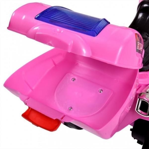 Mini Motocicleta electrica C051 35W cu 3 roti STANDARD #Roz 5