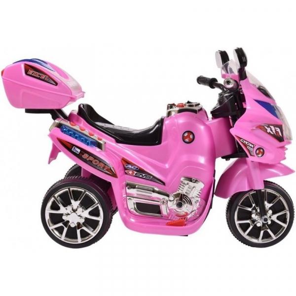 Mini Motocicleta electrica C051 35W cu 3 roti STANDARD #Roz 3