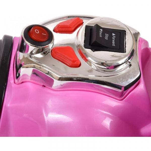 Mini Motocicleta electrica C051 35W cu 3 roti STANDARD #Roz 7