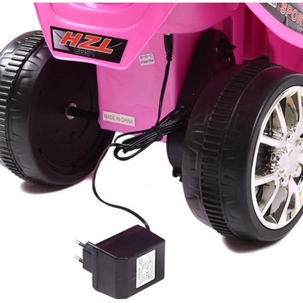 Mini Motocicleta electrica C051 35W cu 3 roti STANDARD #Roz 8