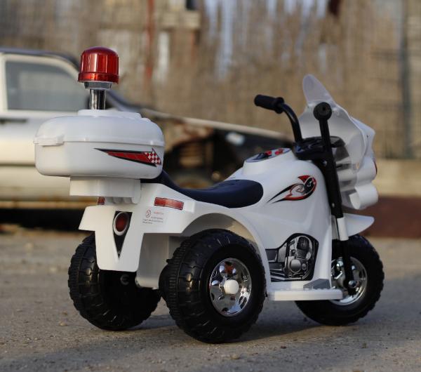 Mini Motocicleta electrica cu 3 roti LQ998 STANDARD #Alb 4