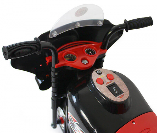 Mini Motocicleta electrica cu 3 roti LQ998 STANDARD #Negru 1