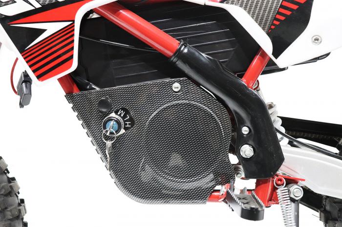Motocicleta electrica pentru copii Eco Gazelle 500W 24V #Albastru [1]