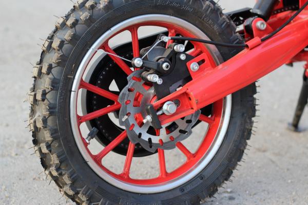 Mini Motocicleta electrica Eco Jackal 1000W 10 inch #Rosu 12