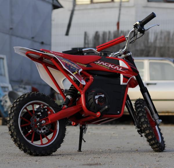 Mini Motocicleta electrica Eco Jackal 1000W 10 inch #Rosu 8