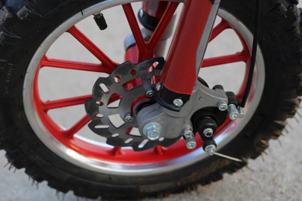 Mini Motocicleta electrica Eco Jackal 1000W 10 inch #Rosu 14