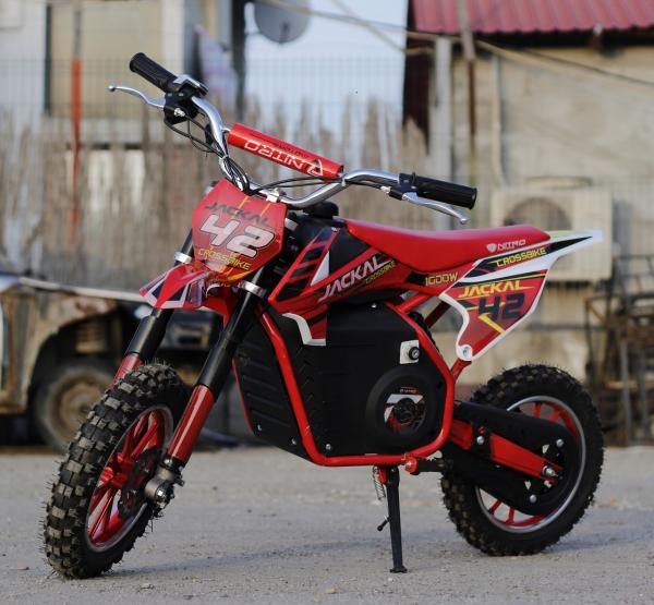 Mini Motocicleta electrica Eco Jackal 1000W 10 inch #Rosu 5