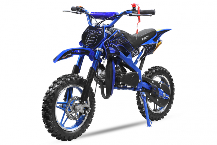 Motocicleta electrica Eco Apollo 1000W 36V 10 inch #Albastru [0]