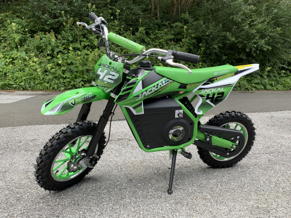 Mini Motocicleta electrica Eco Jackal 1000W 10 inch #Verde [1]