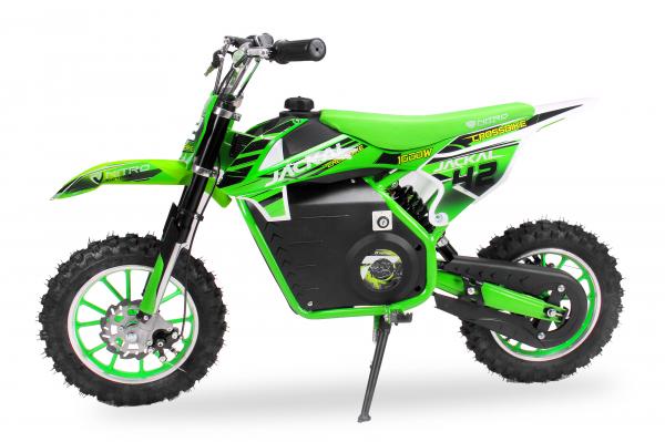 Mini Motocicleta electrica Eco Jackal 1000W 10 inch #Verde [0]
